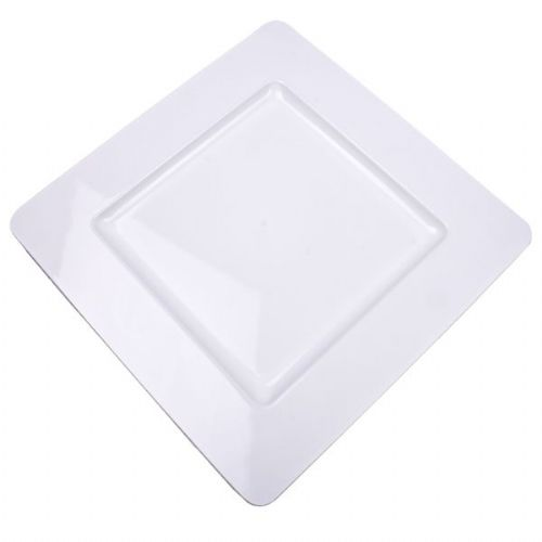 WHITE Square Charger Plate / Underplate